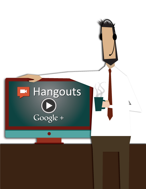 Eyeflow SEO Webinars on Google Plus Hangouts