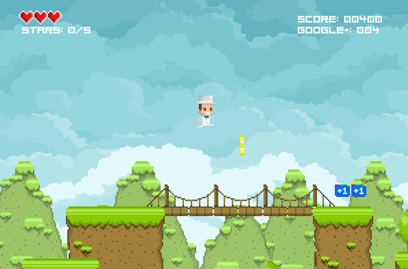 SEO Hero - SEO Video Game Screenshot1