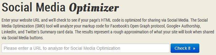 knowem social media optimizer